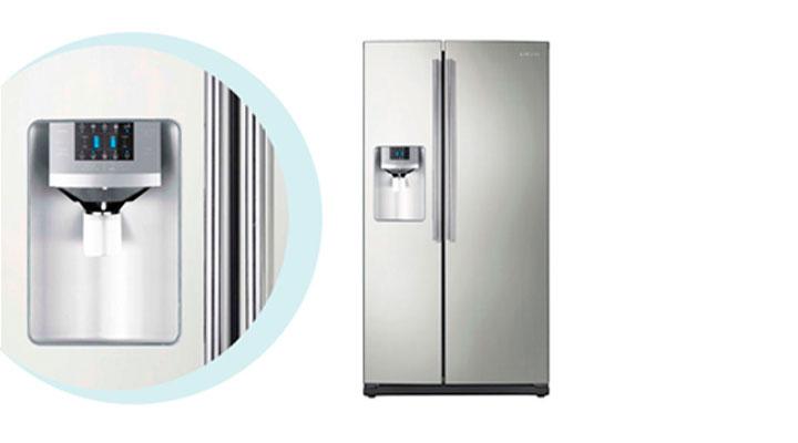 Instalación de refrigeradores side by side